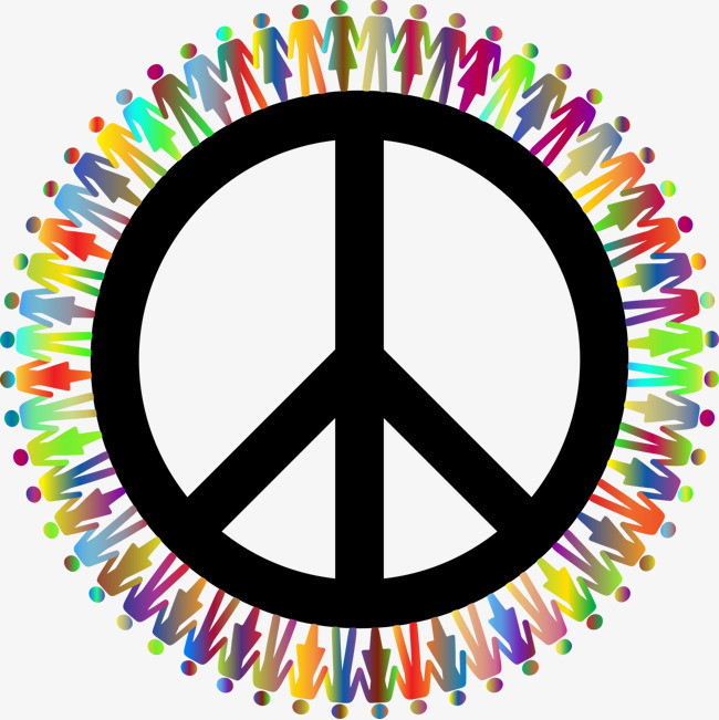 peace symbol, Peace, Color, People PNG Image and Clipart