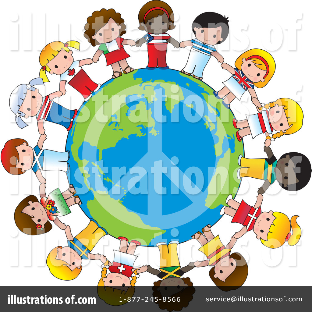 Royalty-Free (RF) World Peace Clipart Illustration by Maria Bell - Stock  Sample