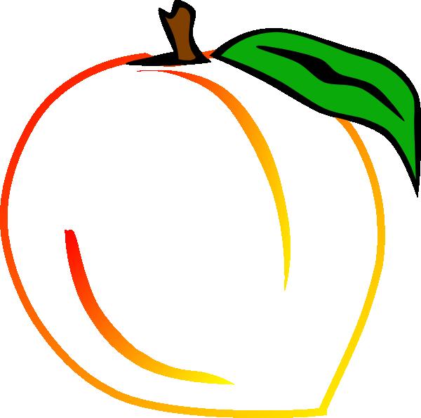Peach Clipart Watermelon Clipart Orange Clipart