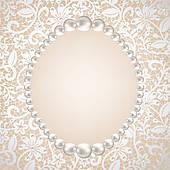 pearl decoration u0026middot; pearl frame