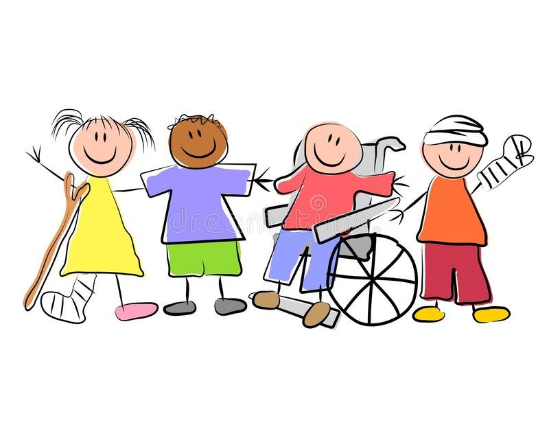Pediatrician Clipart Group Of Sick Kids Pediatrics Stock Vector - Illustration of  girls, american: 4139808