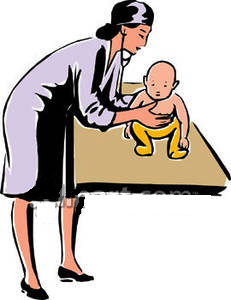 pediatrician-clipart -a_pediatrician_listening_to_a_babys_back_with_a_stethoscope_royalty_free_clipart_picture_090108-211675-542009