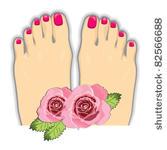 Pedicure Clip Art Vector Manicure Pedicure 2 Graphics Clipart Me