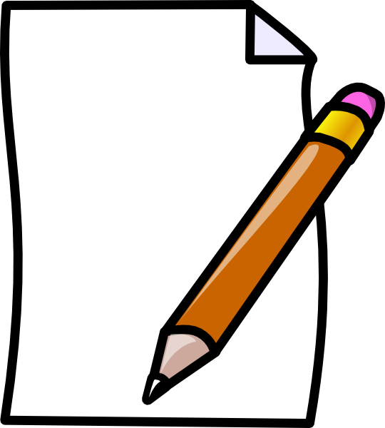 pencil clipart borders
