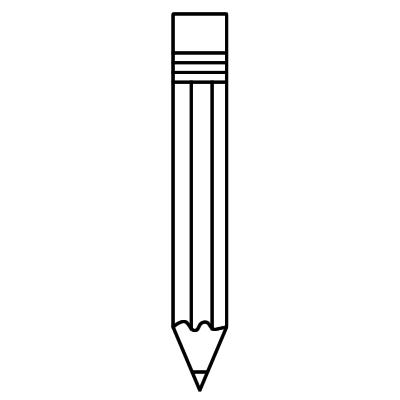 pencil sharpener clipart black and white