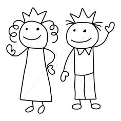 People Figures Clip Art | Variety of Stick People Clip Art | Stick Figures Clip Art