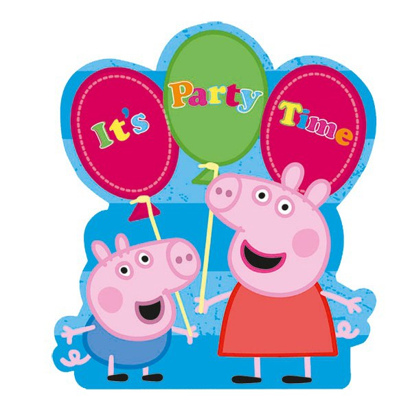 Peppa Pig Birthday Clipart .