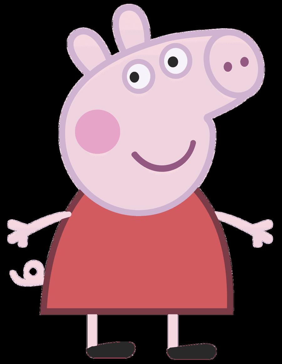 Peppa Pig Clipart - animal, .