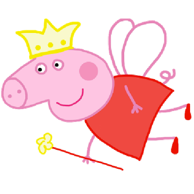 Peppa_Pig_Funny_Fairy_Party_Clipart 1 u0026middot; Peppa_Pig_Party_Ballons_Cake_And_Bubbles u0026middot; Peppa_Pig_Funny_Fairy_Party_Clipart