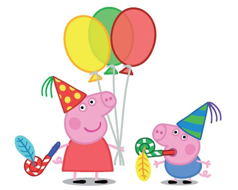 Peppa the pig clipart - .
