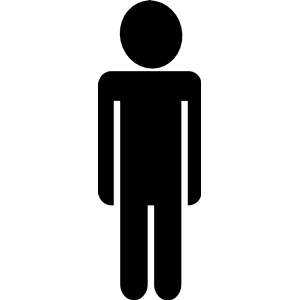 person clipart silhouette