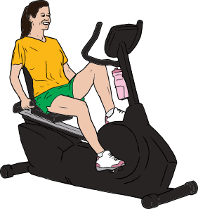 Person Exercising Clipart
