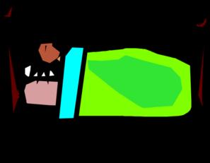Person Sleeping Clip Art At Clker Com Vector Clip Art Online