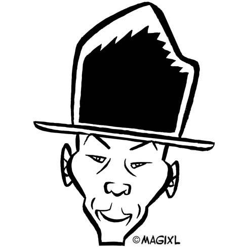 Pharrell Williams Clipart-Clipartlook.com-492
