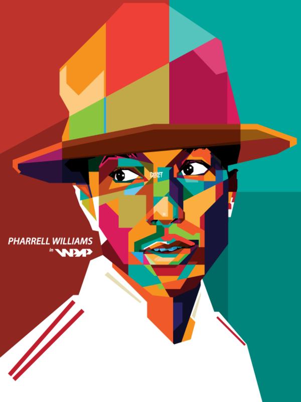 Pharrell Williams in WPAP