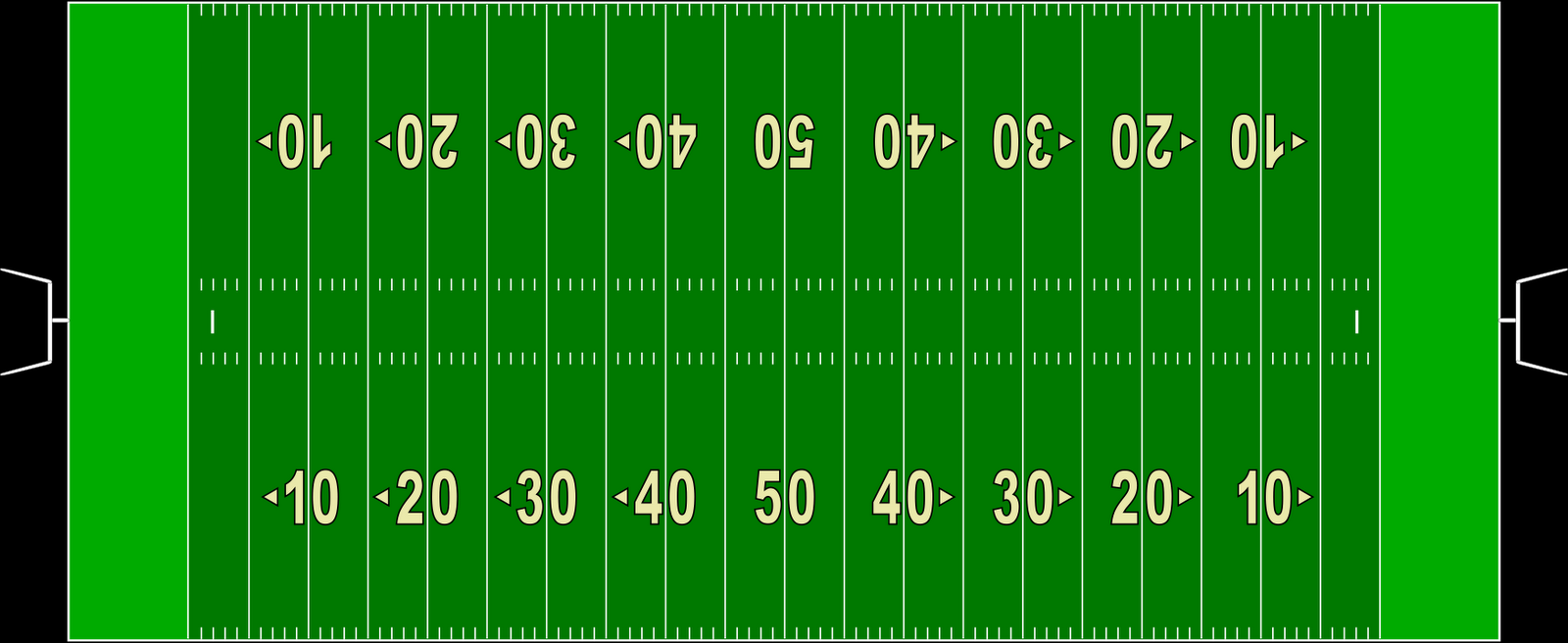 Photo american football field diagram images clipart