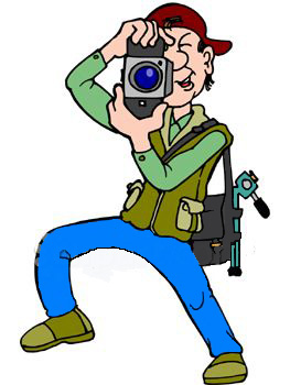 Photography Clipart Graphics. Photographer