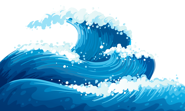 Photos of ocean wave clip art vector water waves clip 3 clipartcow