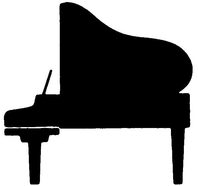 Piano Keyboard Clipart Black And White   Clipart library - Free