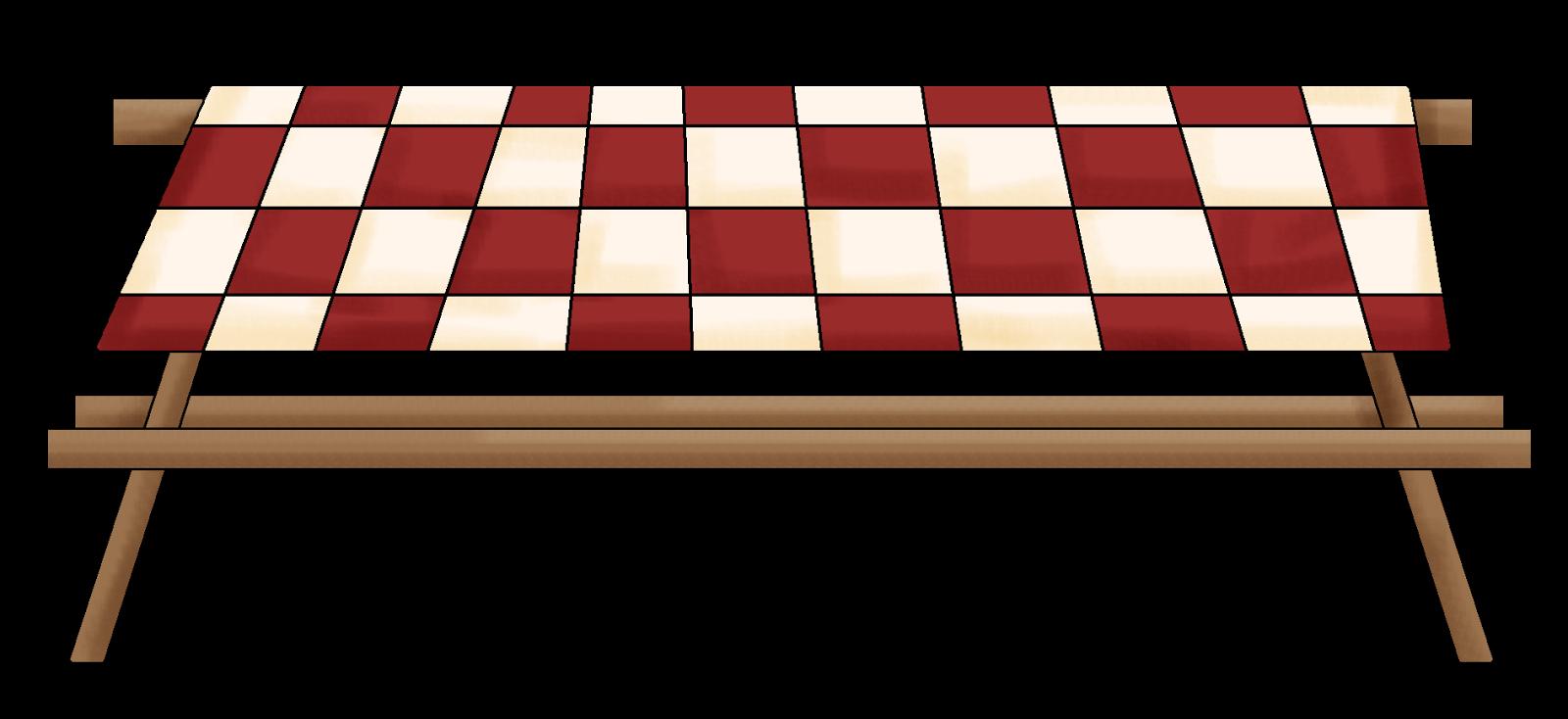 picnic border clipart