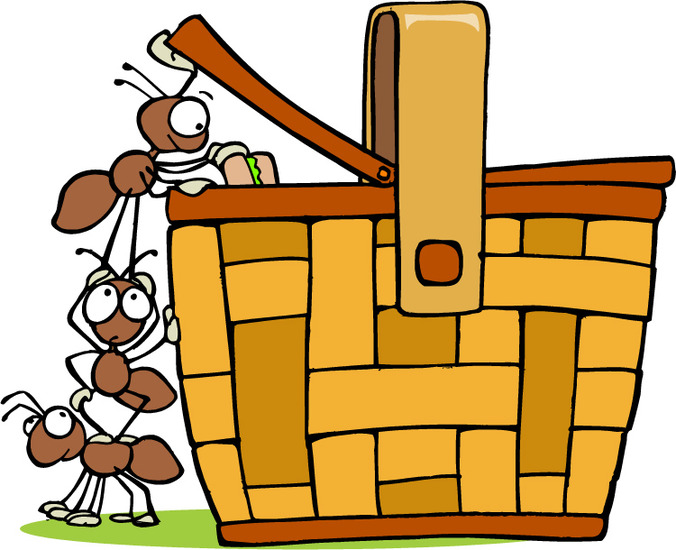 Ant clipart picnic #4