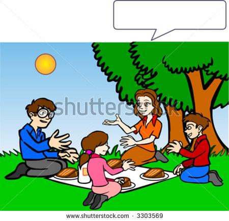 family picnic clipart