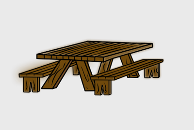 Picnic Table Clip Art Http Www Contentparadise Com Productdetails