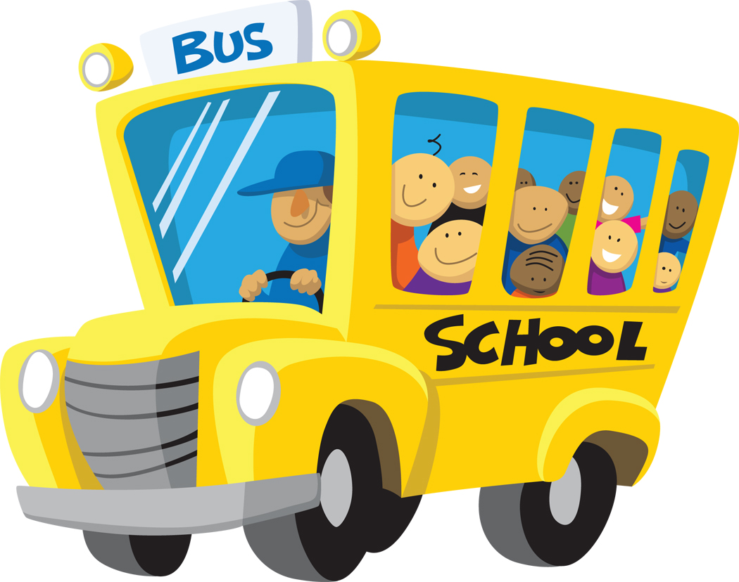 Picture of a school bus clipart clipartall