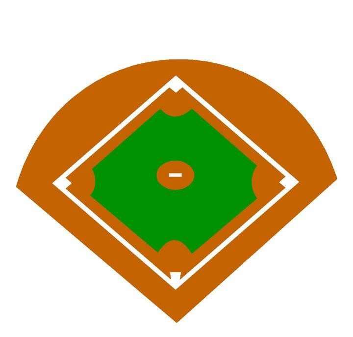 Picture Of Baseball Diamond