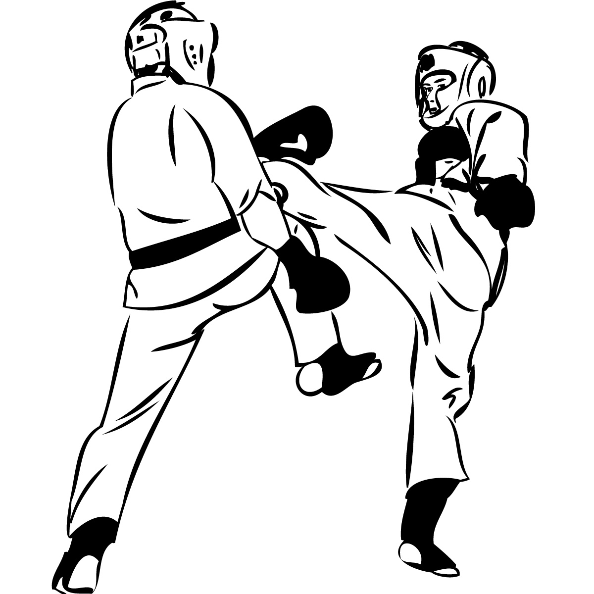 Picture Of Martial Arts - Clipart library