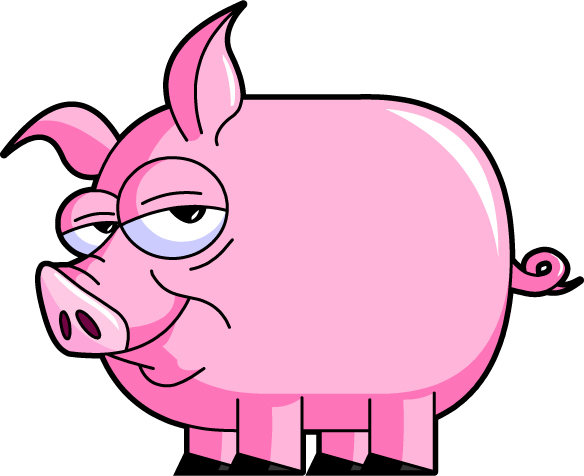 Pig Clip Art Character   Clipart library - Free Clipart Images