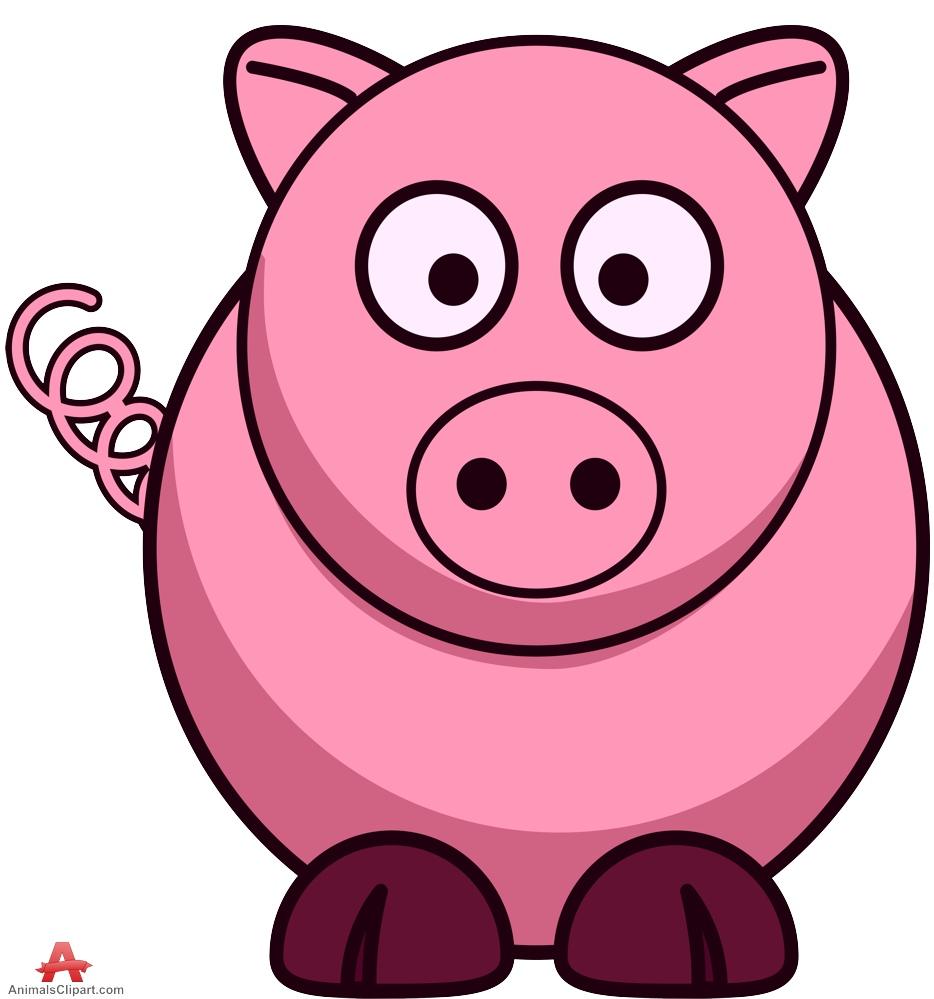 Pig clipart design free .