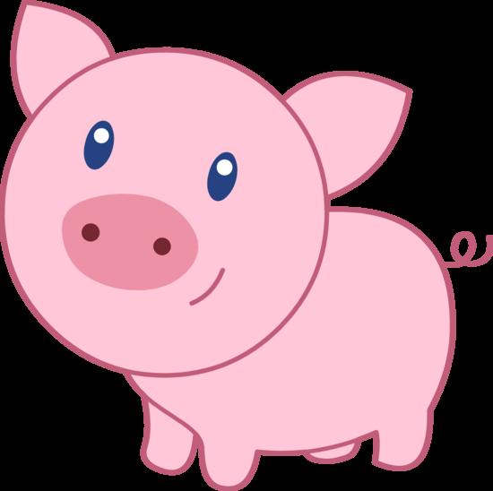 Pig in mud cartoon farm clipart free clip art image image