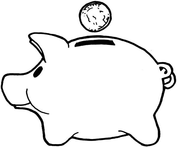 Clipart Piggy Bank Piggy Bank Clipart Synkee Clipartbarn Dinosaur Clipart