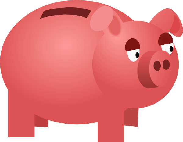 Piggy Bank Clipart this image as: