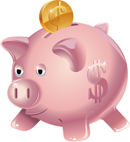 Piggy Bank Clipart Piggy Bank Piggy Clipart Wikiclipart Clipartpost History  Clipart