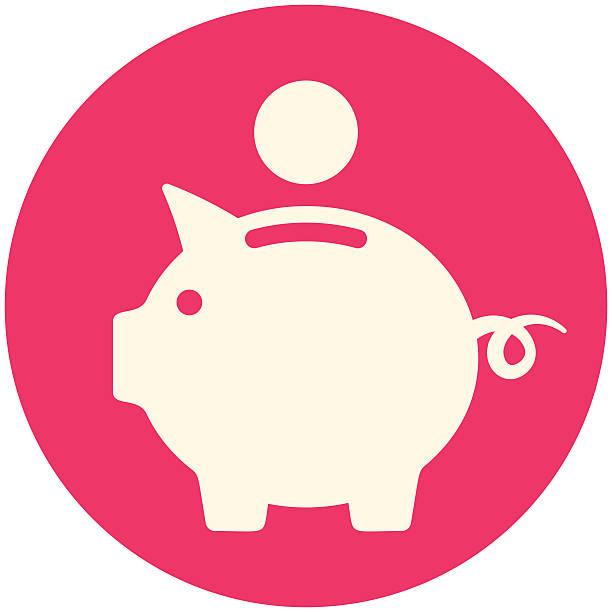 piggy bank clipart red clipar - Piggy Bank Clipart