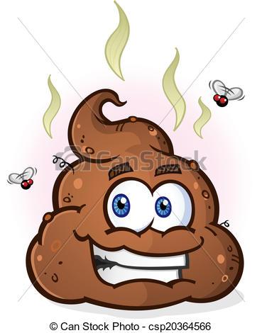 Pile of Poop Cartoon .