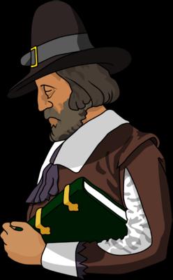 Pilgrim Clip Art. Pilgrim