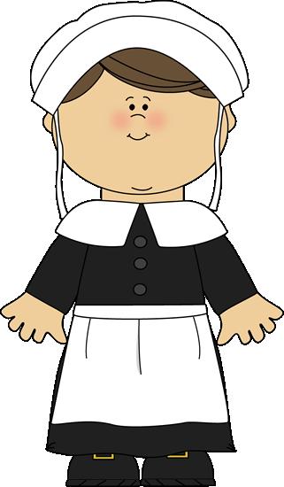 Pilgrim Girl Clip Art Pilgrim Girl Image
