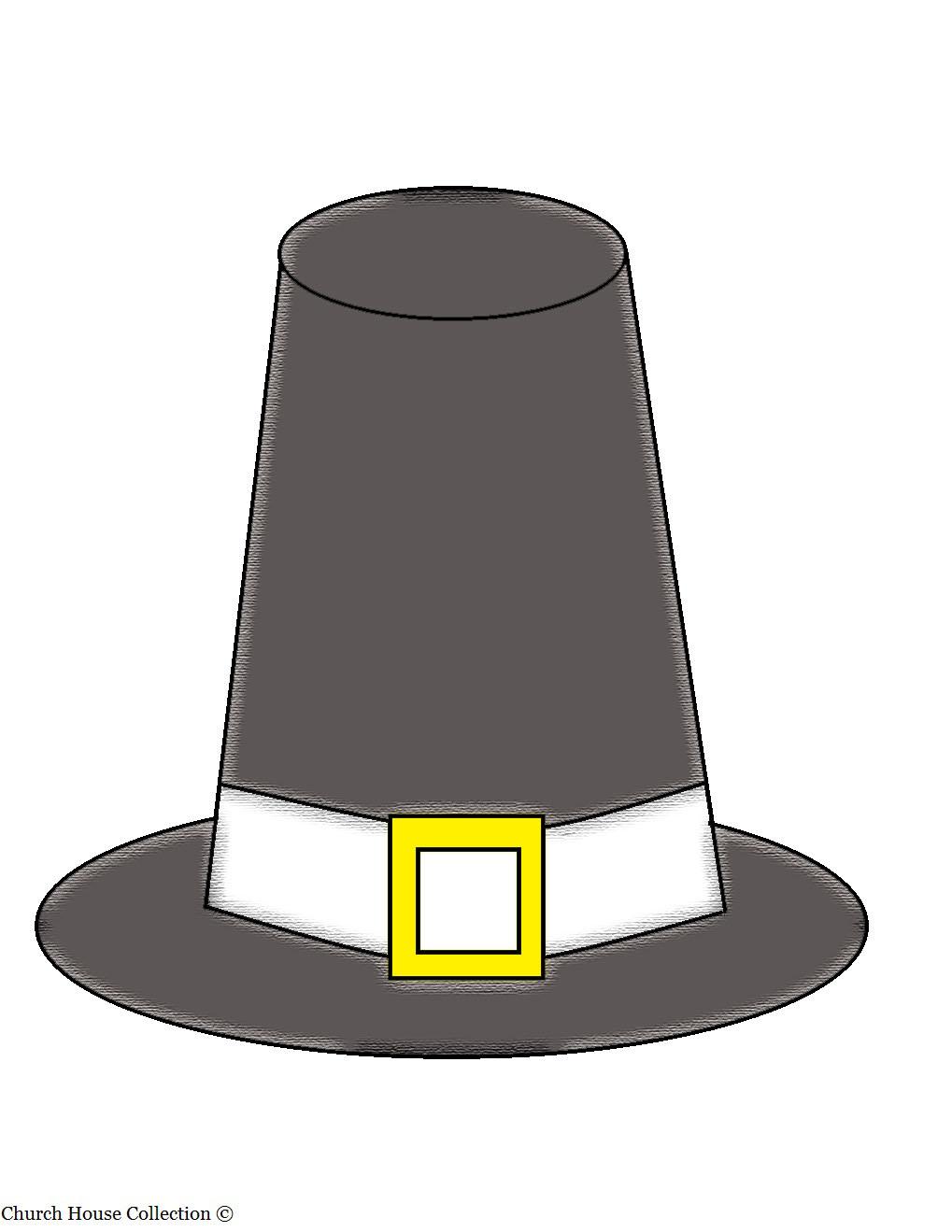 Pilgrim Hat Clip Art