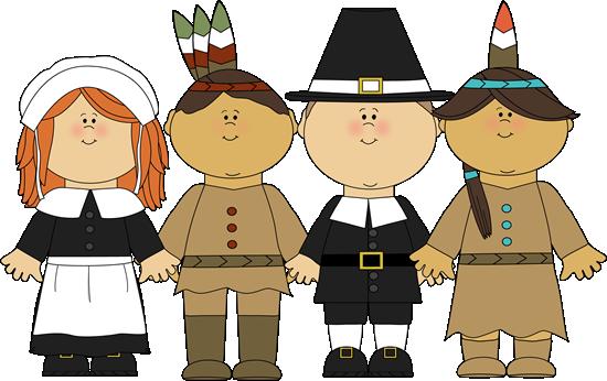 Pilgrims And Indians Pilgrims And Indians Standing Together