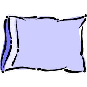 Pillow 5 Clipart Cliparts Of Pillow 5 Free Download Wmf Eps Emf