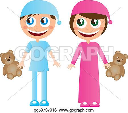 Pillow fight u0026middot; Children in pajamas