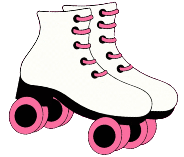 Pin Printable Roller Skate Stencil Welcome Skates Cake On Pinterest