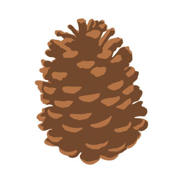 Pine Cone Svg Cutting Files .
