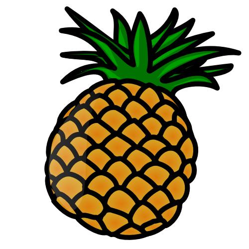 Pineapple Clip Art Free