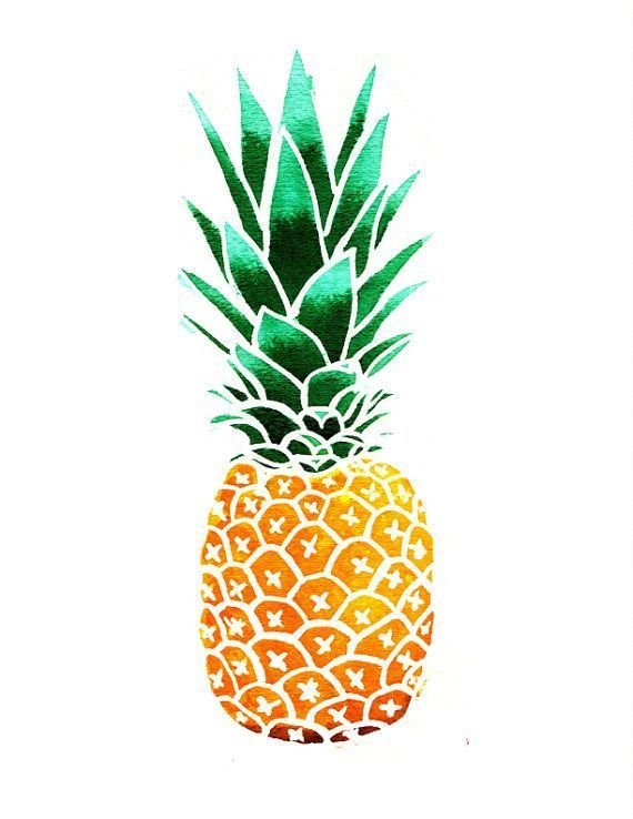 pineapple clipart by marieluney on palms More