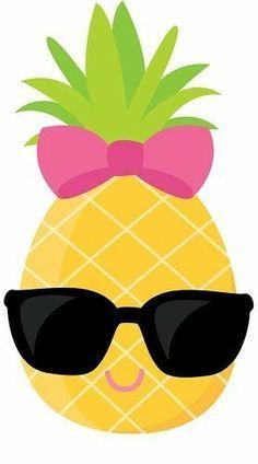 Pineapple Clipart, Cute Pineapple Clip Art , Sunglasses clipart