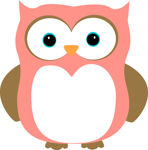 Pink and Brown Owl